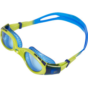 speedo Futura Biofuse Flexiseal Gogle Dzieci, new surf/lime punch/bondi blue